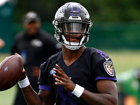 Watch: Watch Lamar Jackson's pinpoint deep ball from Ravens' first training camp practice