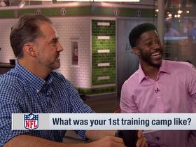 Watch: Nate Burleson shares his first training camp experience with Vikings