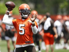 Watch: Mary Kay Cabot: Tyrod Taylor will be the Browns starter, Baker Mayfield will be backup at start of training camp
