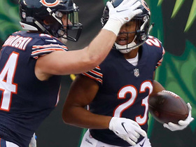 Watch: Kyle Fuller jumps route for 47-yard pick-six!
