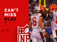 Watch: Can't-Miss Play: Baker throws a dime to Njoku for 10-yard TD