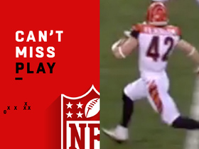 Watch: Can't-Miss Play: Bengals fake punt succeeds for a 49-yard gain!