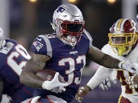 Watch: Jeremy Hill rushes for only 1-yard to get the Patriots their first touchdown