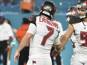 Watch: Chandler Catanzaro nails a 26-yard game-winning field goal