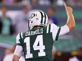 Watch: Darnold throws his first NFL preseason TD