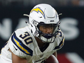 Watch: Austin Ekeler bursts through blocks for 20-yard gain