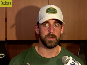 Watch: Rodgers on critical comments about WRs: 'I'm trying to win games'