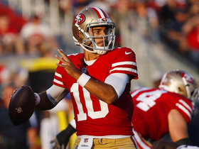 Watch: Schrager: Jimmy Garoppolo has big expectations to fill in 2018