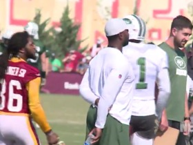 Watch: D.J. Swearinger taunts Terrelle Pryor at Redskins-Jets joint practice