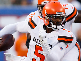 Watch: Jabrill Peppers: It's still a good competition in Browns' QB room