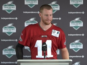 Watch: Wentz on getting cleared for Week 1: I've known it's going to be close for a while