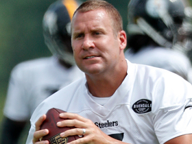 Watch: Ben Roethlisberger leaves Steelers practice early