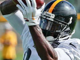 Watch: Kinkhabwala: Antonio Brown participated on 11-on-11 drills at Steelers practice Tuesday