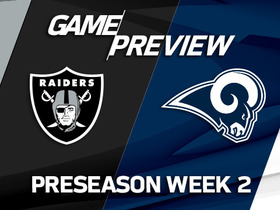 Watch: Raiders vs. Rams | Preseason Week 2 Preview