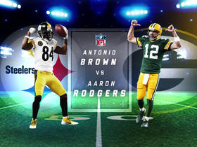Watch: Who has stronger grasp on 'best at position' title: Antonio Brown or Aaron Rodgers?