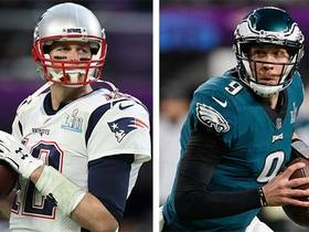 Watch: How long will Brady, Foles play on Thursday?