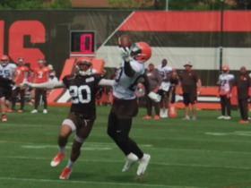 Watch: Jarvis Landry makes one-handed catch in practice