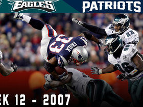 Watch: The Sunday Night Scare! | Eagles vs. Patriots Week 12, 2007