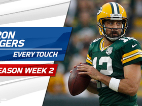 Watch: Every Aaron Rodgers touch | Preseason Week 2