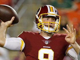 Watch: Hogan makes big-time throw to Sims to set up FG try