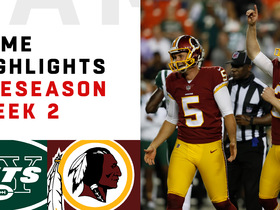 Watch: Jets vs. Redskins highlights | Preseason Week 2