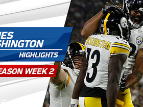 Watch: James Washington highlights | Preseason Week 2