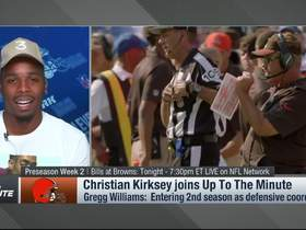 Watch: Christian Kirksey: 'Sky is the limit' for our defense under Gregg Williams