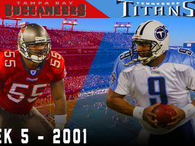 Watch: McNair Takes on the Buc's Dominant Defense! | Buccaneers vs. Titans, 2001