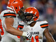 Watch: Chubb bursts through middle for first preseason TD
