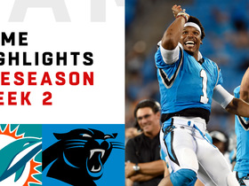 Watch: Dolphins vs. Panthers highlights | Preseason Week 2