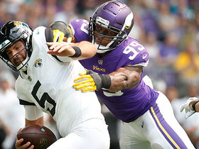 Watch: Danielle Hunter swings around Blake Bortles for sack