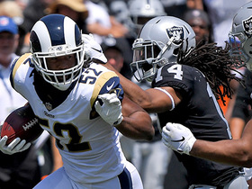 Watch: Ramik Wilson scoops up Cook's fumble in Raiders territory