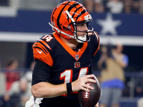 Watch: Andy Dalton takes off and runs for 13 yards