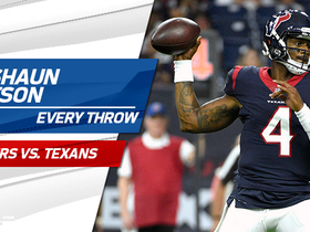 Watch: Every Deshaun Watson throw | Preseason Week 2