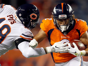 Watch: Phillip Lindsay spins off Bears defenders for 15-yard run