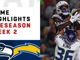 Watch: Seahawks vs. Chargers highlights | Preseason Week 2