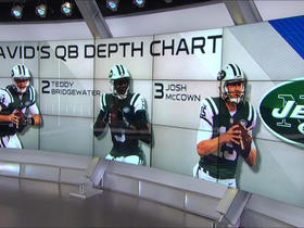 Watch: David Carr ranks the Jets quarterbacks: Should Sam Darnold be the starter?