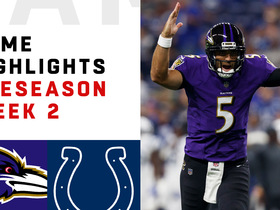 Watch: Ravens vs. Colts highlights | Preseason Week 2