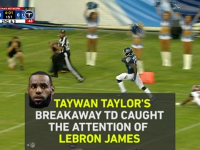 Watch: Lebron James Gives Taywan Taylor a Shoutout Storybox