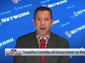 Watch: Rapoport: Competition Committee seeking 'clarity' on helmet rule