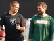 Watch: Reunited: Rodgers throws to Jordy Nelson pregame