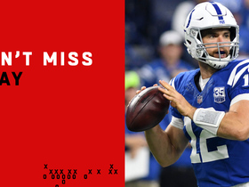 Watch: Can't-Miss Play: Luck is back! QB finds Ebron on deep TD pass