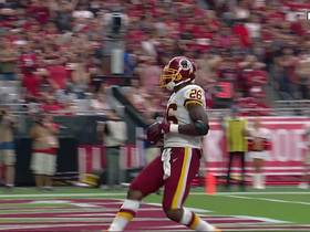 Watch: Peterson breaks through for 100th career touchdown
