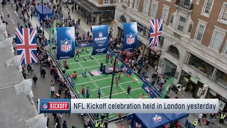 Nfl On Sirius >> Atn Kickoff Weekend In Piccadilly Square Nfl Videos