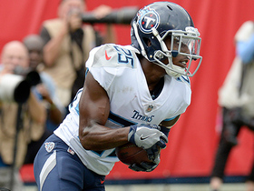 Watch: Adoree' comes up with first career INT on deep ball to Hopkins