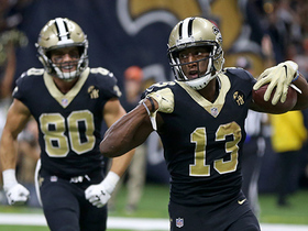 Watch: Michael Thomas caps off the drive with quick slant TD