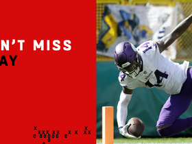 Watch: Can't-Miss Play: Cousins unleashes DEEP rainbow pass to Diggs for 75-yard TD