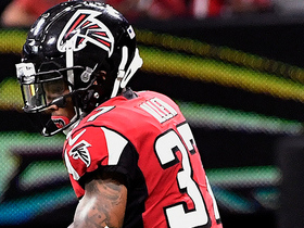 Watch: Ricardo Allen picks off pass after it bounces off C.J. Anderson