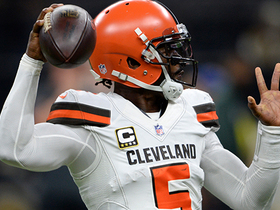 Watch: Schrager: Browns' results have 'not been' on Tyrod Taylor