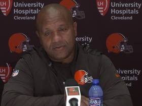 Watch: Hue says Browns will use old scouting on Darnold to game plan